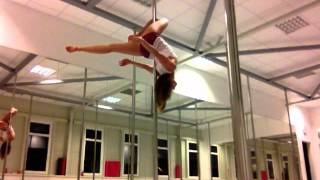 Eva`s Pole Dance Improvisation - Kratší Verze