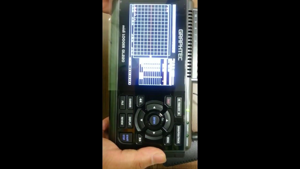 Gl220 Midi Data Logger : Gl channel midi logger voltage temp humidity pulse