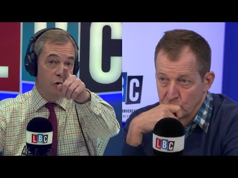 The Nigel Farage Show On Sunday: Joined by Alistair Cambell 2nd Referendum? 1/2  LBC - 14th Jan 2018