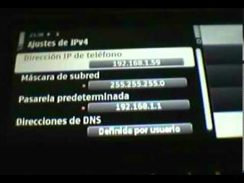 Nokia C6 configuración WLAN detallada