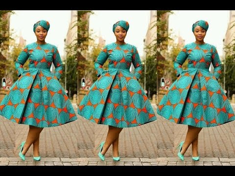 Latest Ankara Short Gown Styles 20172018 Best Ankara Collection