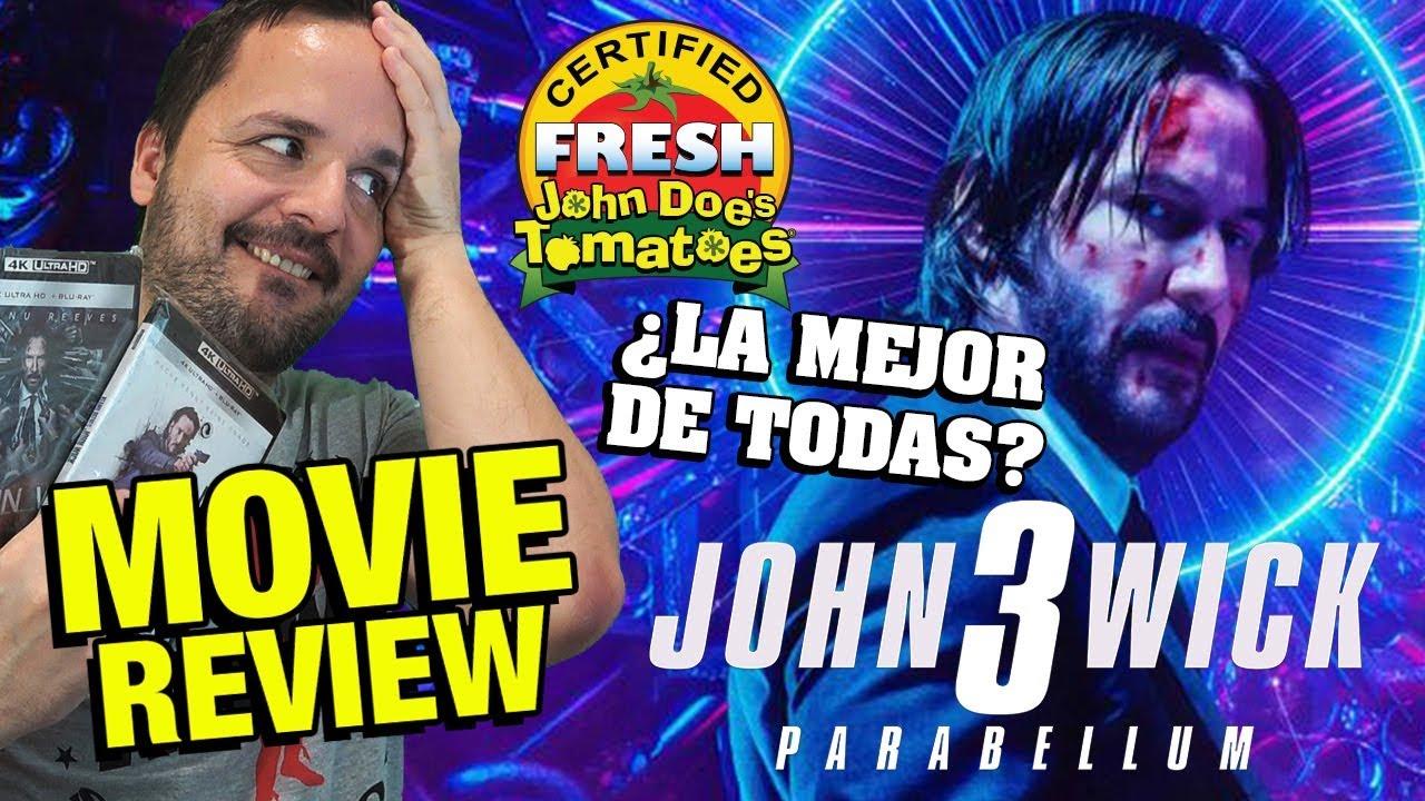 Ver John Wick 3 : ¿La mejor? – CRÍTICA – REVIEW – OPINIÓN – Keanu Reeves – Chad Stahelski en Español