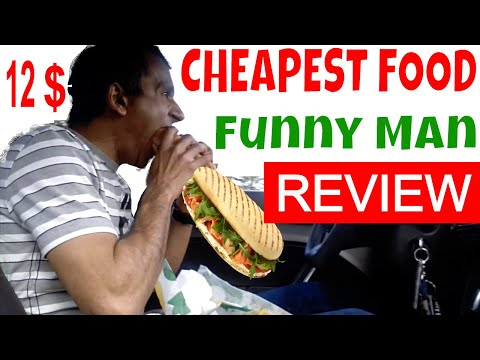 12 $ Canada Food Review By Indian Man - Subway & Coffee (Tim's)