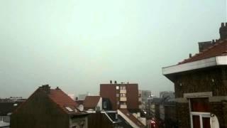 Inondation bruxelles + eclairs