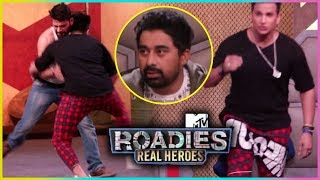 Prince Narula FIGHTS With Contestant | MTV Roadies Real Heroes
