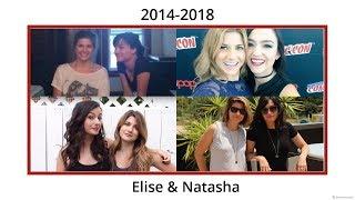 Elise Bauman & Natasha Negovanlis | 2014-2018 moments