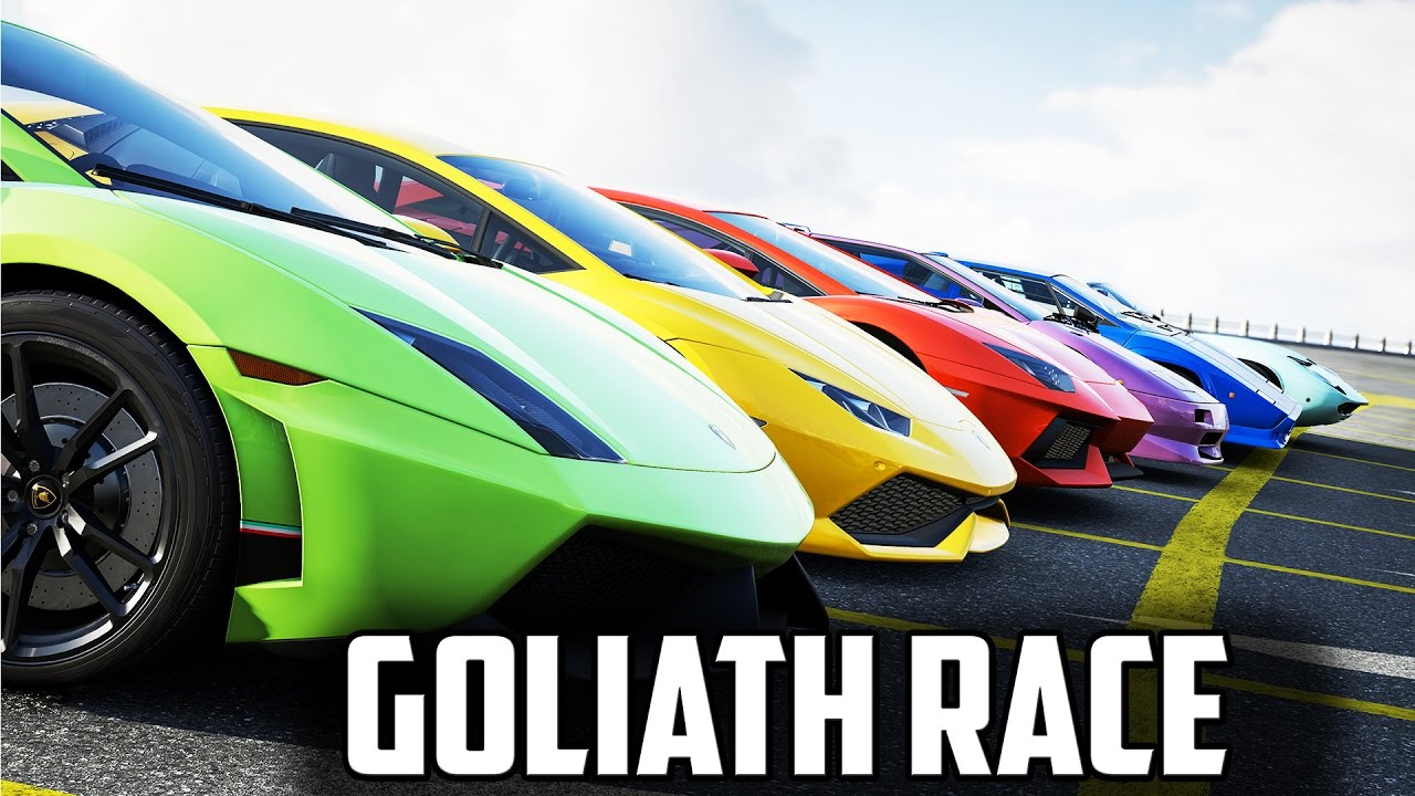 Hyper Cars Goliath Race For Forza Horizon Tournament Youtube