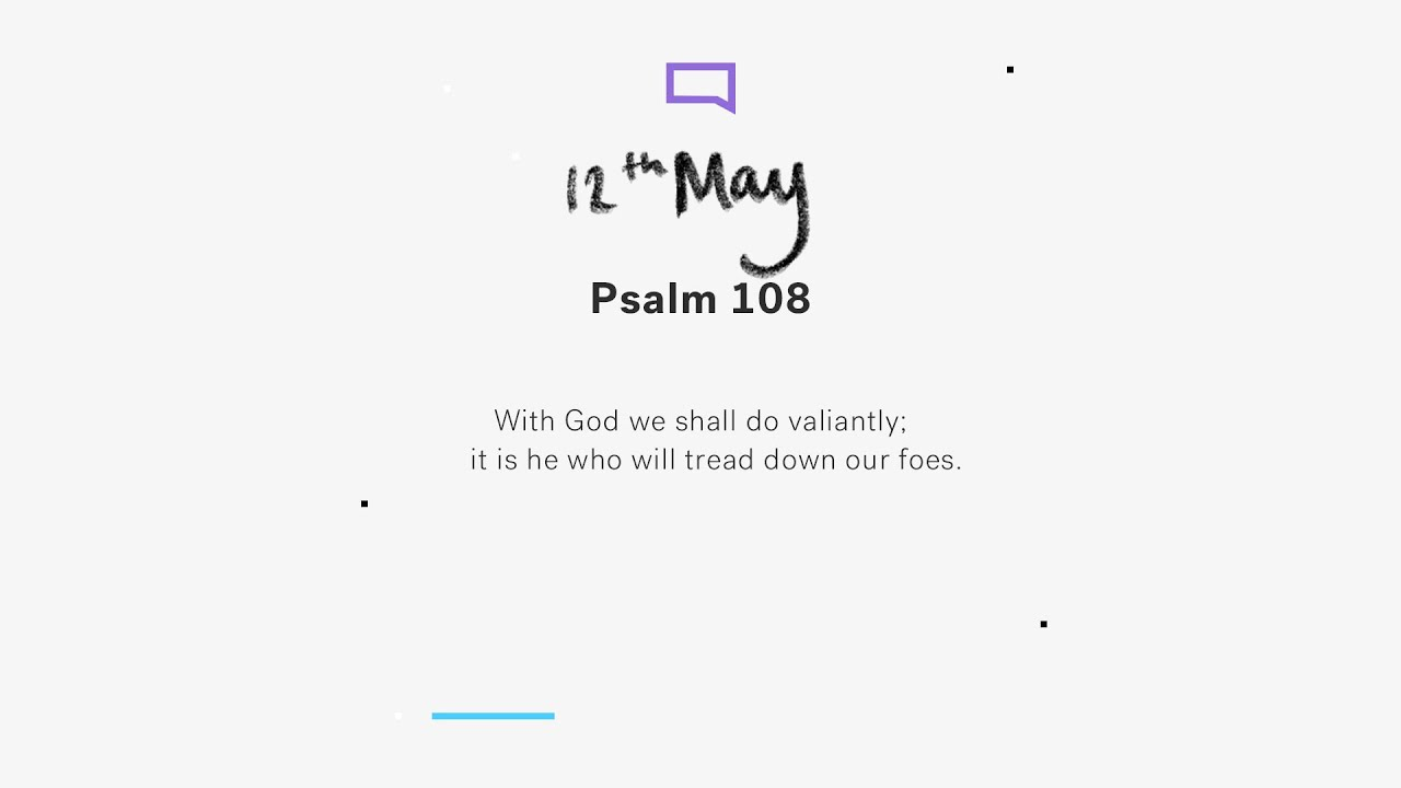 Daily Devotion with Steve Walford // Psalm 108 Cover Image