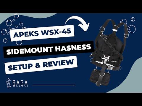 APEKS WSX45 Sidemount