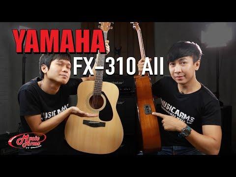 YAMAHA FX310 AII l กีต้าร์โปร่งไฟฟ้าเริ่มต้นคุณภาพเยี่ยม