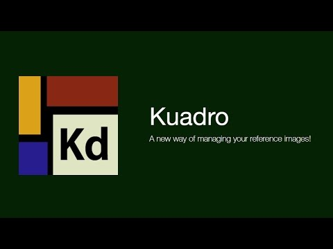 Kuadro - A new way of managing your reference images!