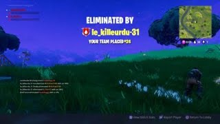 Fortnite knocked out glitch