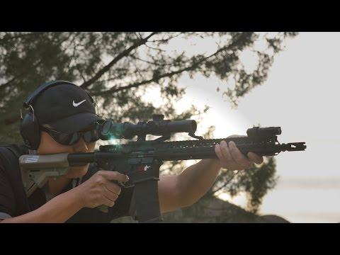 AR15 Burris XTR II 1-5x Rifle Scope