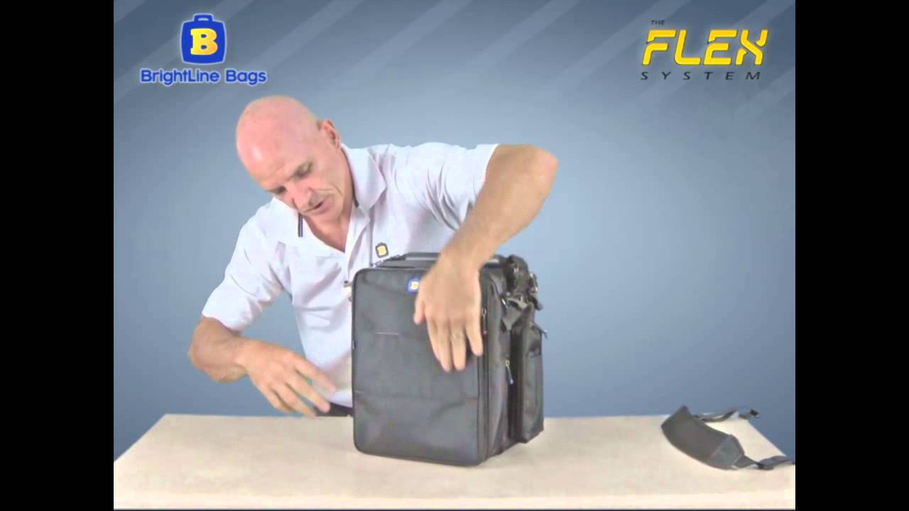 93ee9ea4daf Brightline Bags B7 Flight Pilot Bag - YouTube