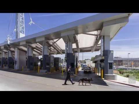 United States Land Port of Entry, San Ysidro, California