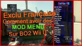 [EXCLU FR] Comment avoir des mod menu sur black ops 2 Wii U tuto complet en Français !