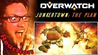 """Junkertown: The Plan"" | Overwatch Animation REACTION! | AN EXPLOSIVE FRIENDSHIP! |"