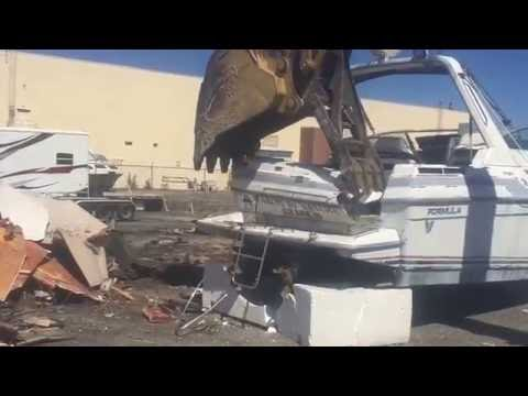 Boat Removal & Disposal in Annapolis, MD