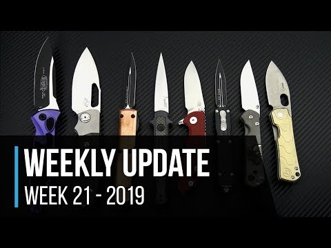 Weekly Update 21 - 2019:  Microtech Socom Elite Colors, Copper Top Ultratech, Boker Gust And More!