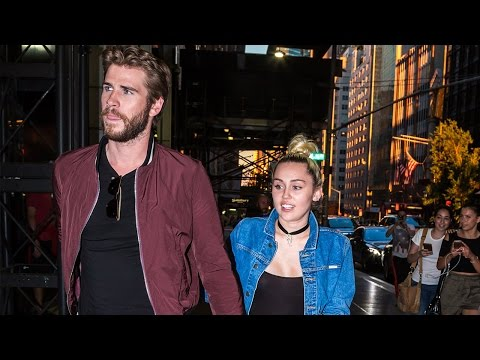 Miley Cyrus & Liam Hemsworth Spotted Out On Date Night & Wearing Engagement Ring