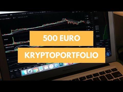 Wie Du Mit 500 € Ein Portfolio Mit Kryptowährungen Aufbaust
