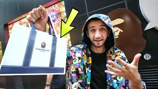 We Spent $650 at the CHINESE BAPE STORE in HONG KONG