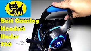 Beexcellent  Gaming Headset with Microphone - BEST HEADSET UNDER $20?? PC/PS4/CELL
