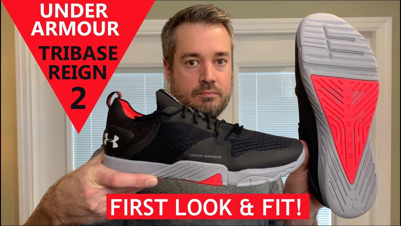 modelado duradero nuevo concepto oferta especial Under Armour TriBase Reign 2 Cross Training Shoe - Unboxing, First ...