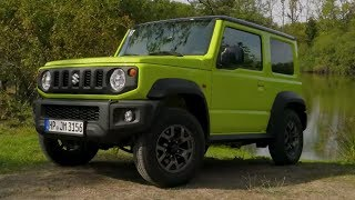 NEW 2018 Suzuki Jimny review | A replacement for the Land Rover Defender?