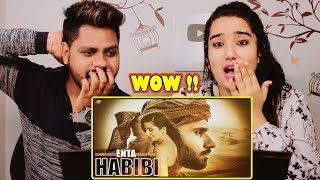 Indian Reaction On ENTA HABIBI | Rahim Pardesi ft Natalia Itani ( OFFICIAL SONG ) | PS Records