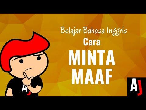 Cara MINTA MAAF dalam bahasa Inggris | Seri Belajar Bahasa Inggris