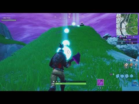 How To Complete a time trial East of Pleasant Park or South West of Salty Springs (STORM RACERS)