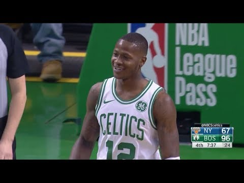 Terry Rozier Highlights vs New York Knicks (17 pts, 11 reb, 10 ast)