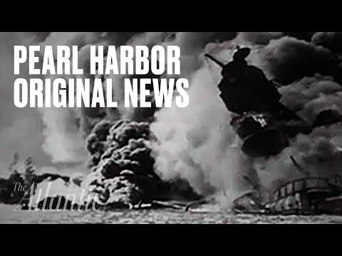 Original Pearl Harbor News Footage
