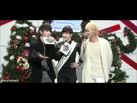 BEAST \ B2ST - 비스트 - LEE GIKWANG & SON DONGWOON & YONG JUNHYUNG - CHRISTMAS MC [HD]