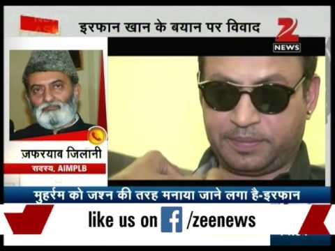 Actor Irrfan Khan stirs controversy over statement on Ramadan rituals