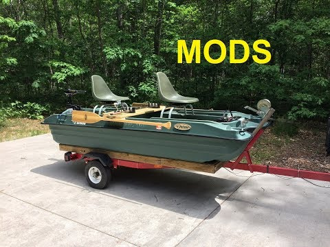 Pelican Bass Raider 10E fishing boat mods