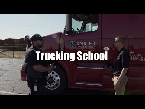 Trucking School // On The Road: EP 14 // Knight Transportation