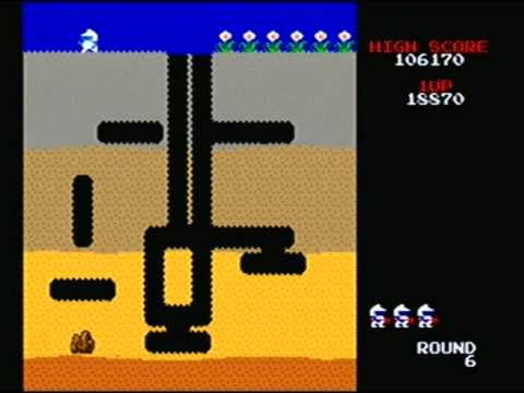 Namco Museum - Dig Dug (Original Arcade)