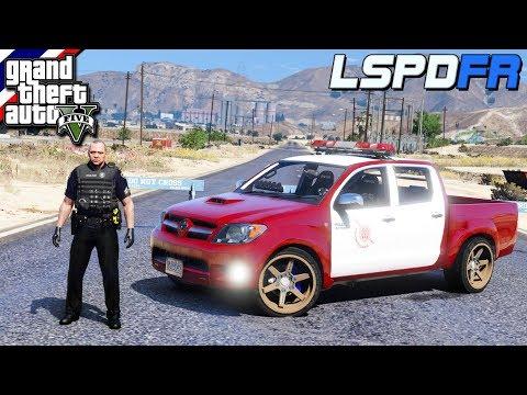 GTA V - LSPDFR มาเป็นตำรวจในเกม GTA V จ่าตั้มกับรถตำรวจไทยสายซิ่ง #36
