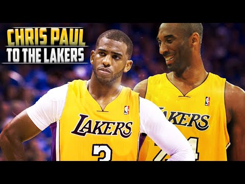 What If - Chris Paul Went to The LA Lakers In 2011 TRADE!!