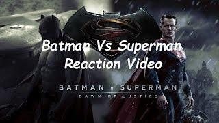 Superman Vs Batman Trailer Reaction & Thought's