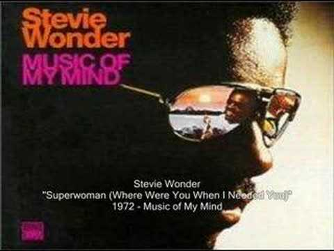 Stevie Wonder | Superwoman (Where Were You When I Needed You)