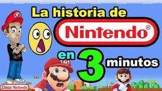 "La historia de Nintendo en 3 Minutos ""SpeedRun"" / Chico Nintendo"