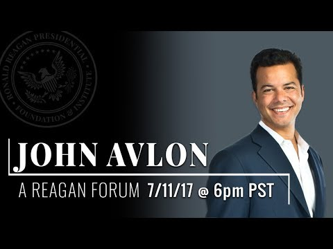 A Reagan Forum and Book Signing with John Avlon — 7/11/17 ...