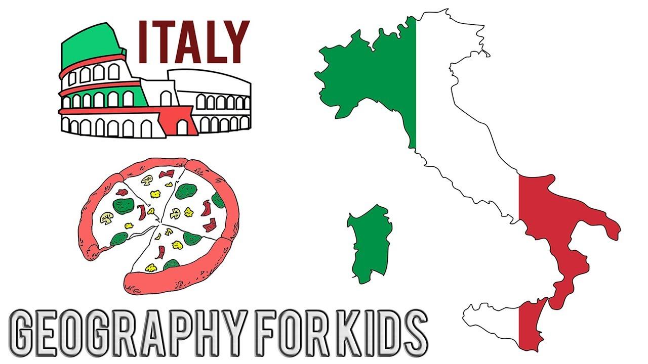 Geography for Kids in English - Geography of ITALY - Interesting and  Education Facts for Kids