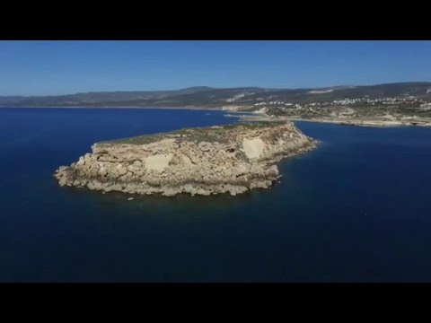 DJI Phantom 3 Advanced Flight Agios Georgios & Yeronosis Island Paphos Cyprus Aerial Filming