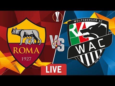 ROMA - Wolfsberger   Diretta LIVE (Europa League) 2019/2020