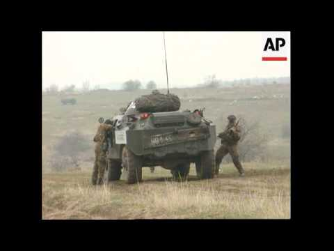 Hungary/Croatia - Croatia/Krajina Border Security