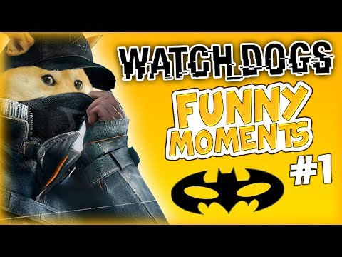I'M BATMAN, THE DOGE, DOUBLE IS A TRIPLE TROLL - Watch Dogs Online Funny Moments #1